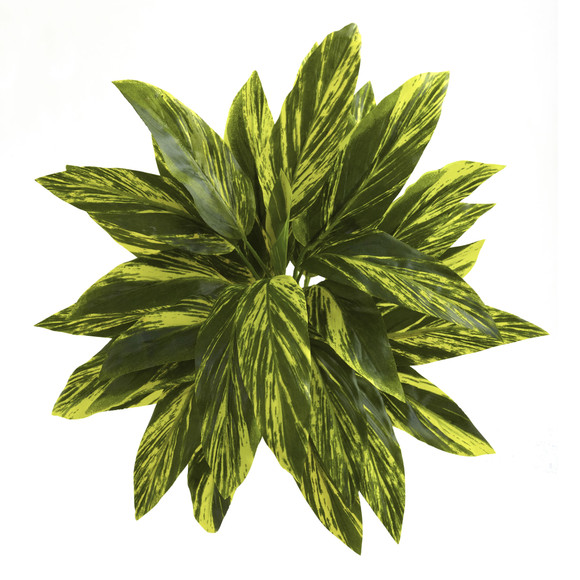 19 Tradescantia Artificial Plant Real Touch Set of 6 - SKU #6123-S6 - 1