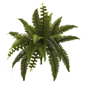 14 Boston Fern Artificial Plant Set of 6 - SKU #6125-S6