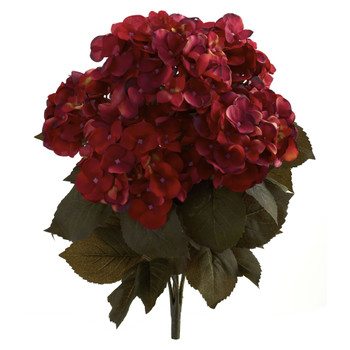 20 Fall Hydrangea Artificial Plant Set of 2 - SKU #6126-S2