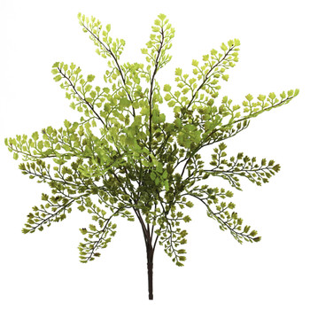 15 Maiden Hair Artificial Plant Set of 12 - SKU #6128-S12