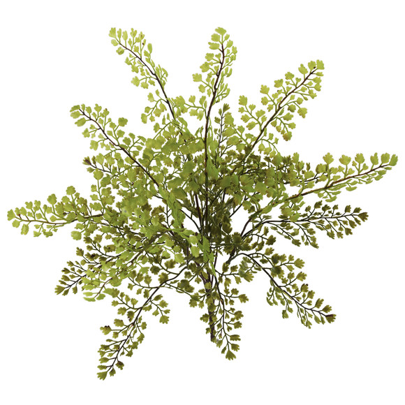 15 Maiden Hair Artificial Plant Set of 12 - SKU #6128-S12 - 1
