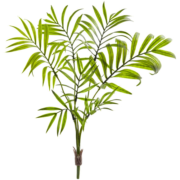 Mini Areca Palm Artificial Bush Set of 8 - SKU #6142-S8