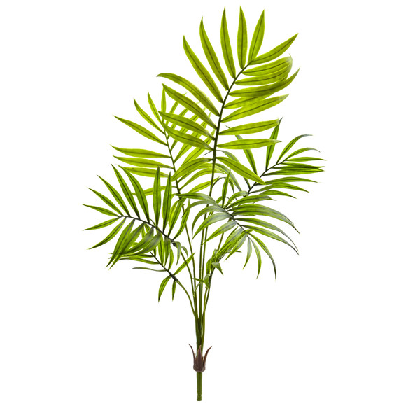 Mini Areca Palm Artificial Bush Set of 6 - SKU #6143-S6