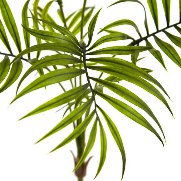Mini Areca Palm Artificial Bush Set of 6 - SKU #6143-S6 - 1