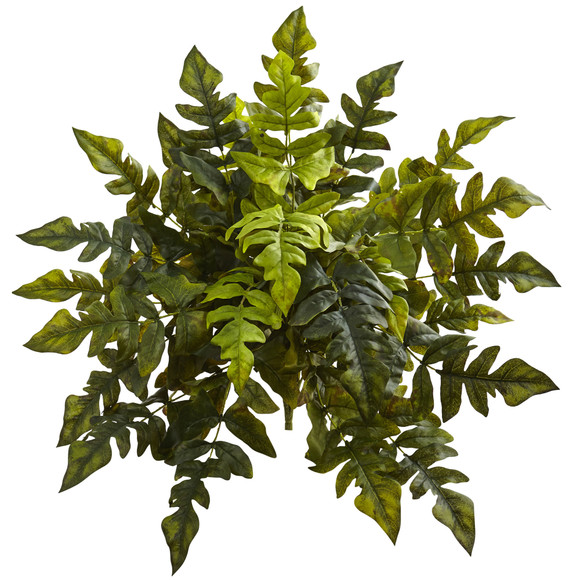 24 Holly Fern Artificial Plant Set of 2 - SKU #6147-S2