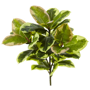 23 Rubber Leaf Artificial Plant Real Touch Set of 3 - SKU #6148-S3