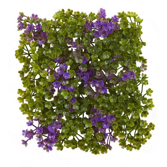 6 x 6 Purple Green Clover Mat Set of 12 - SKU #6153-S12 - 1