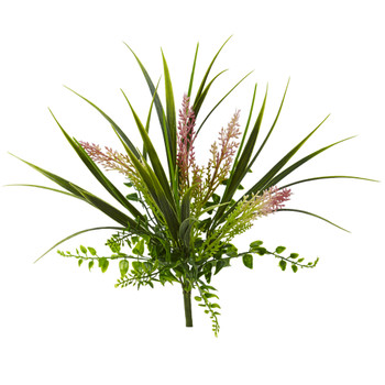 11 Grass and Fern Artificial Plant Set of 12 - SKU #6154-S12