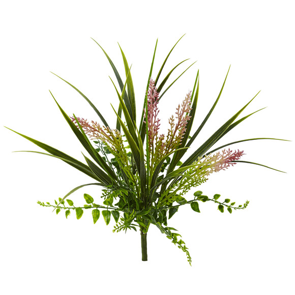 11 Grass and Fern Artificial Plant Set of 12 - SKU #6154-S12 - 1