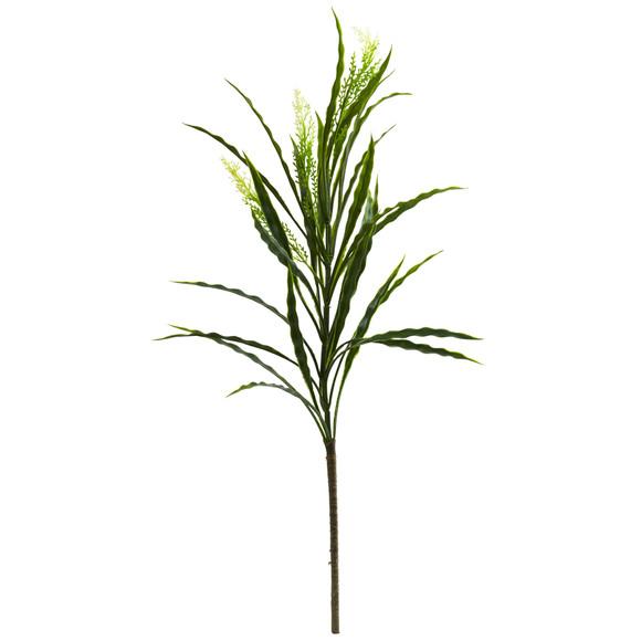 27 Vanilla Grass Artificial Plant Set of 24 - SKU #6172-S24
