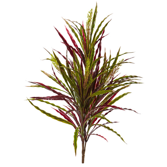 28 Fall Vanilla Grass Artificial Plant Set of 3 - SKU #6173-S3