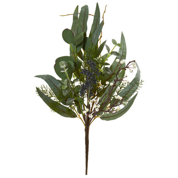 18 Eucalyptus Pick Artificial Plant Set of 6 - SKU #6179-S6