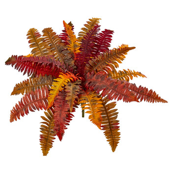 20 Autumn Boston Fern Artificial Plant Set of 3 - SKU #6183-S3