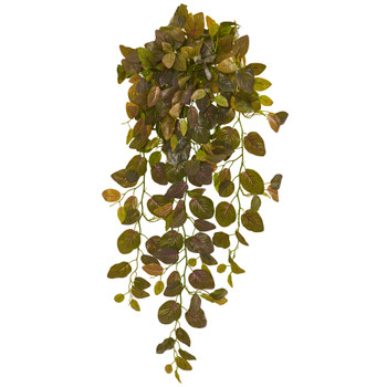 36 Fittonia Hanging Bush Artificial Plant Set of 2 Real Touch - SKU #6191-S2