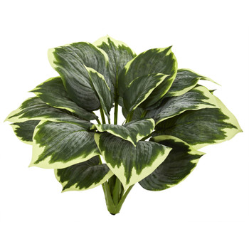 Variegated Hosta Artificial Plant Set of 6 - SKU #6203-S6