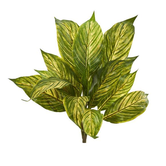 17 Musa Leaf Artificial Plant Set of 12 - SKU #6206-S12