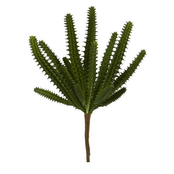 8 Finger Cactus Artificial Plant Set of 12 - SKU #6213-S12