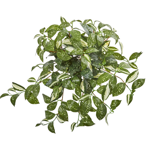 17 Florida Beauty Hanging Artificial Plant Set of 4 - SKU #6214-S4