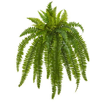 35 Boston Fern Artificial Plant Set of 2 - SKU #6218-S2