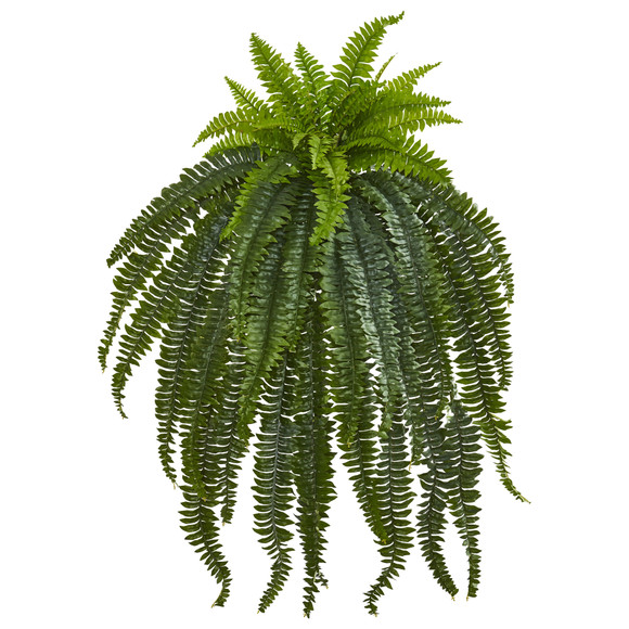 46 Boston Fern Artificial Plant - SKU #6219-S1