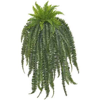 58 Boston Fern Artificial Hanging Plant - SKU #6220-S1