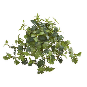 22 Dusty Miller Hanging Artificial Plant Set of 3 - SKU #6221-S3