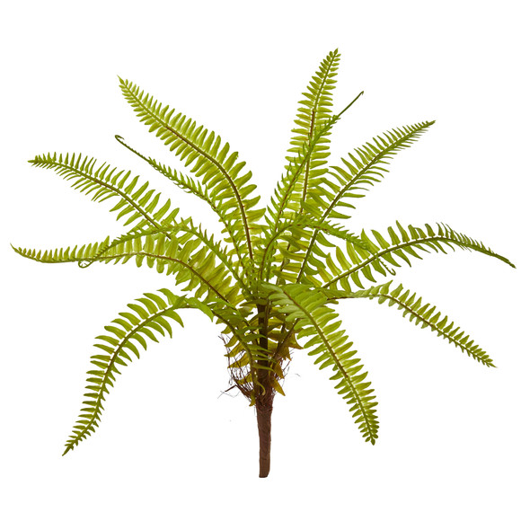 12 Fern Artificial Plant Set of 12 - SKU #6223-S12