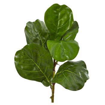 23 Fiddle Leaf Artificial Plant Set of 4 - SKU #6232-S4
