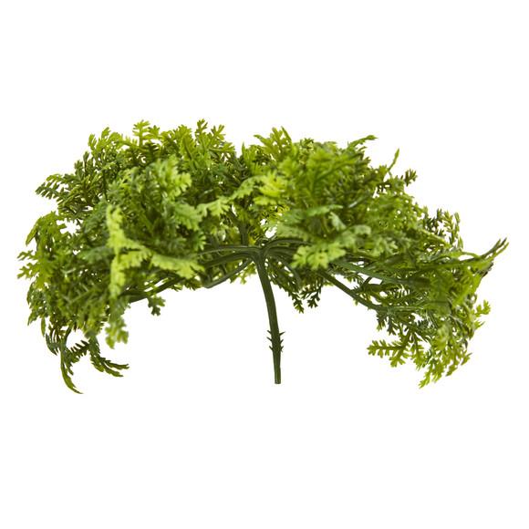 6 Moss Artificial Bush Flower Set of 12 - SKU #6257-S12 - 2