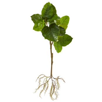 39 Foliage Artificial Branch with Intricate Roots System Set of 2 - SKU #6258-S2