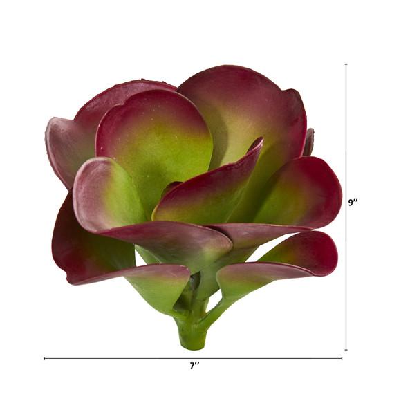 9 Succulent Artificial Plant Set of 6 - SKU #6259-S6 - 1