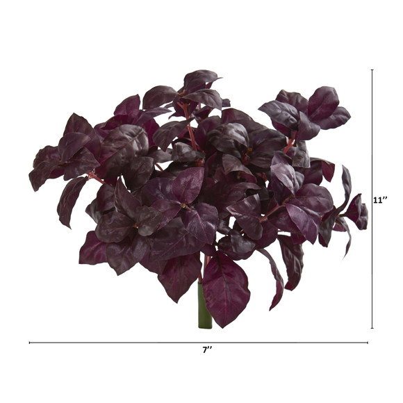 11 Basil Artificial Plant Set of 6 - SKU #6266-S6 - 1