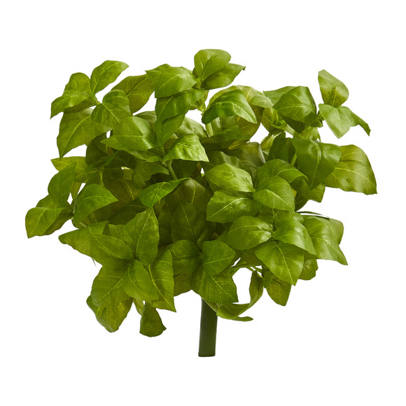 11 Basil Artificial Plant Set of 6 - SKU #6266-S6 - 2
