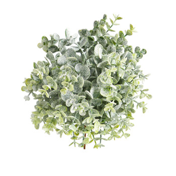 8 Frosted Eucalyptus Decorative Artificial Ball Set of 3 - SKU #6299-S3