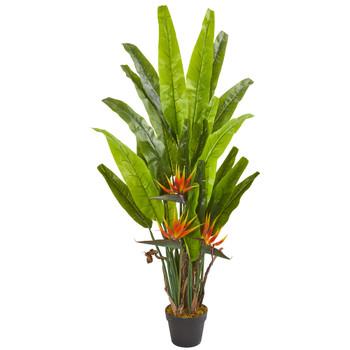 4.5 Bird of Paradise Artificial Plant - SKU #6355