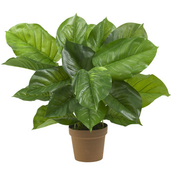 Large Leaf Philodendron Silk Plant Real Touch - SKU #6582
