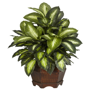 Golden Dieffenbachia Silk Plant - SKU #6639