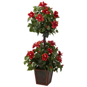 39 Hibiscus Topiary - SKU #6726