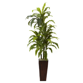 Margarintum w/Bamboo Planter - SKU #6748