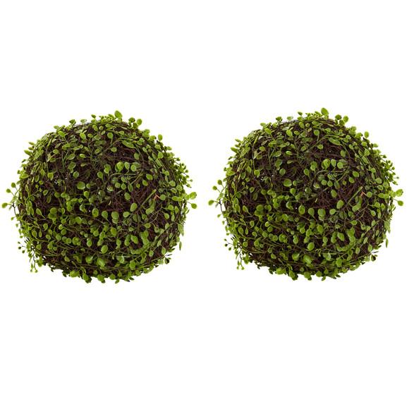 9 Mohlenbechia Ball Set of 2 - SKU #6805-S2