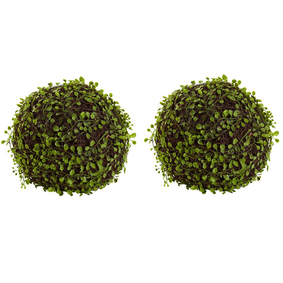 9 Mohlenbechia Ball Set of 2 - SKU #6805-S2