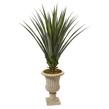 5 Spiked Agave Artificial Plant in Decorative Urn - SKU #6902
