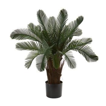 2 Cycas Artificial Tree UV Resistant Indoor/Outdoor - SKU #6937