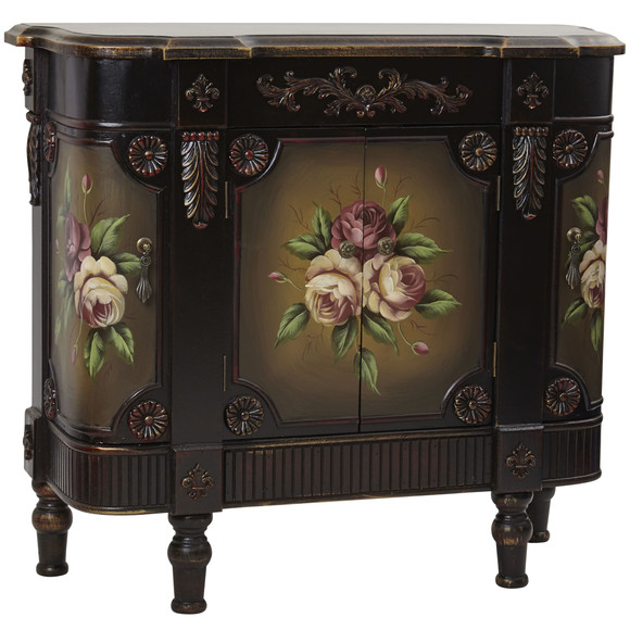 French Vintage Style Floor Cabinet - SKU #7014