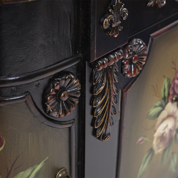French Vintage Style Floor Cabinet - SKU #7014 - 6
