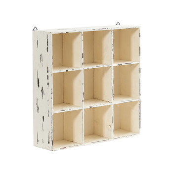 16 Decorative Wall Organizer or Planter - SKU #7039