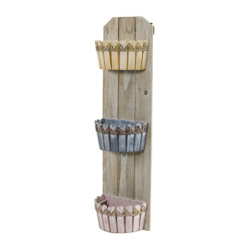 35 Triple Wall Planter - SKU #7046