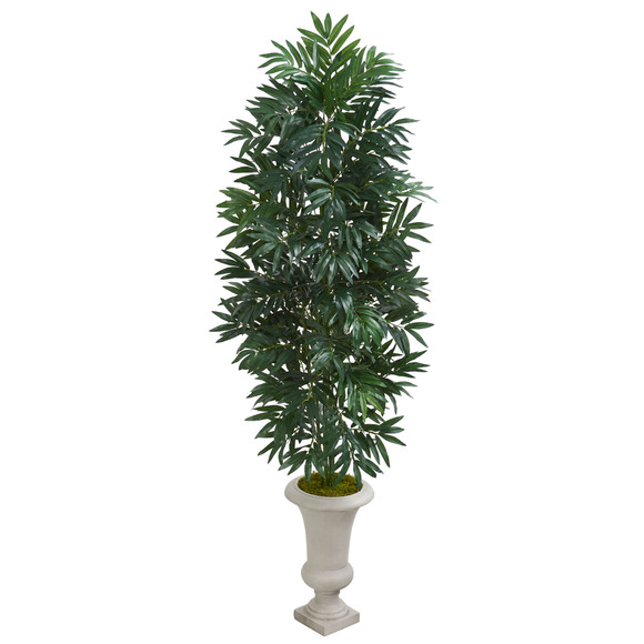 5.5 Bamboo Palm Artificial Plant in Urn - SKU #8085