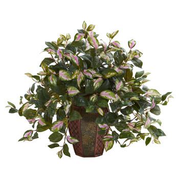 Hoya Artificial Plant in Decorative Planter - SKU #8153