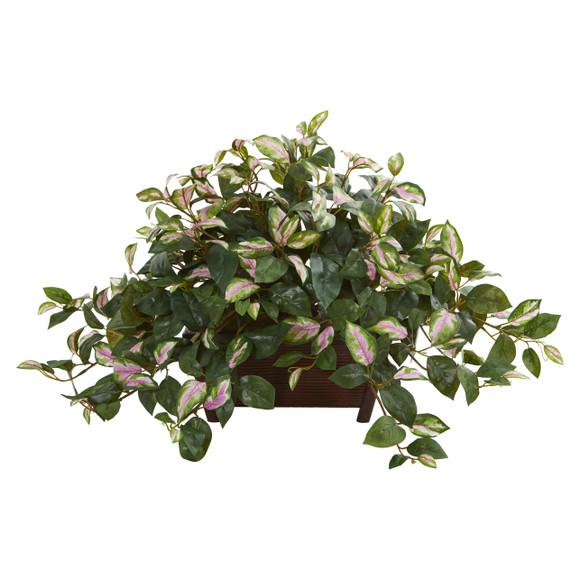 Hoya Artificial Plant in Decorative Planter - SKU #8203